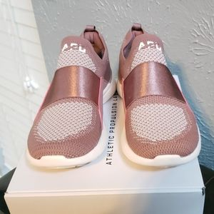 APL Rose and Pink Techloom Bliss Sneakers